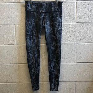 Alo blue print legging, sz xs, 61711